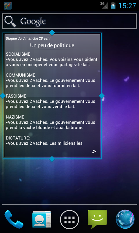 Blague du Matin- screenshot