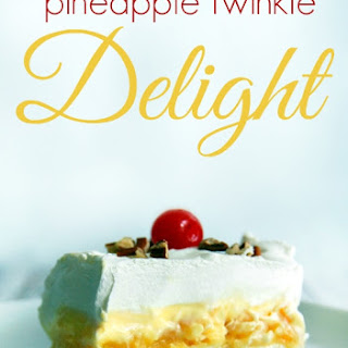 Pineapple Twinkie Delight.