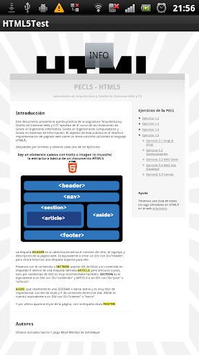 HTML5 Tester
