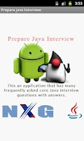 Screenshot of Prepare Java Interview