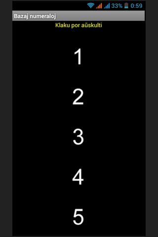 Esperanto testo pri numeraloj