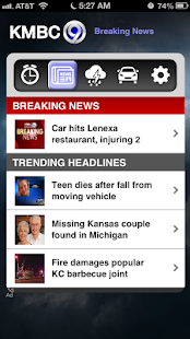 Alarm Clock KMBC 9 News - screenshot thumbnail