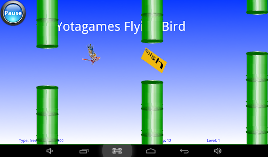 Yota Flying Bird Android Apps On Google Play