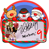 Christmas Frame Widget Ninth