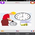 Control Horas Salario  ingreso icon