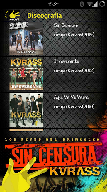 #11. Grupo Kvrass (Android)