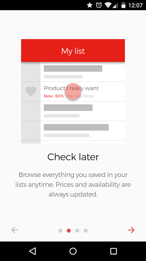 how to add to wishlist in app store