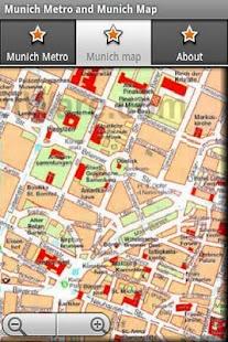 Munich Metro and Munich Map - screenshot thumbnail