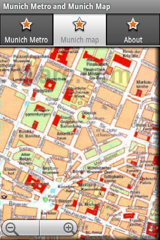 Munich Metro and Munich Map - screenshot