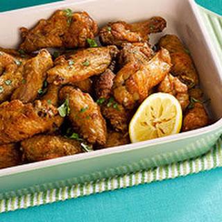 Crispy Curry Wings.