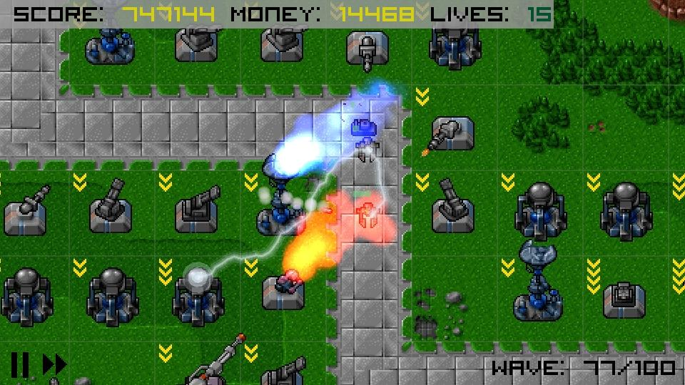 Heavy Defense- screenshot