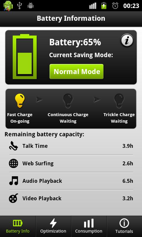 Easy Battery Saver - screenshot