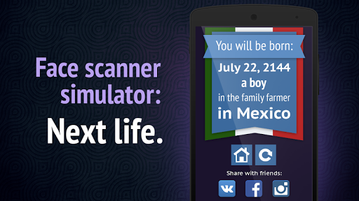 Face Scanner: Next Life
