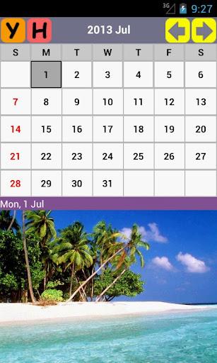 免費下載生產應用APP|大自然風景日曆 2014 app開箱文|APP開箱王