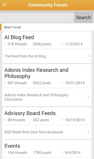 【免費健康App】Adonis Index Mobile-APP點子