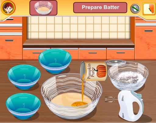 蛋糕烹飪遊戲