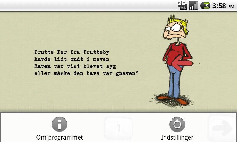 Prutte Per – screenshot