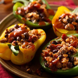 Quick and Easy Italian Stuffed Peppers