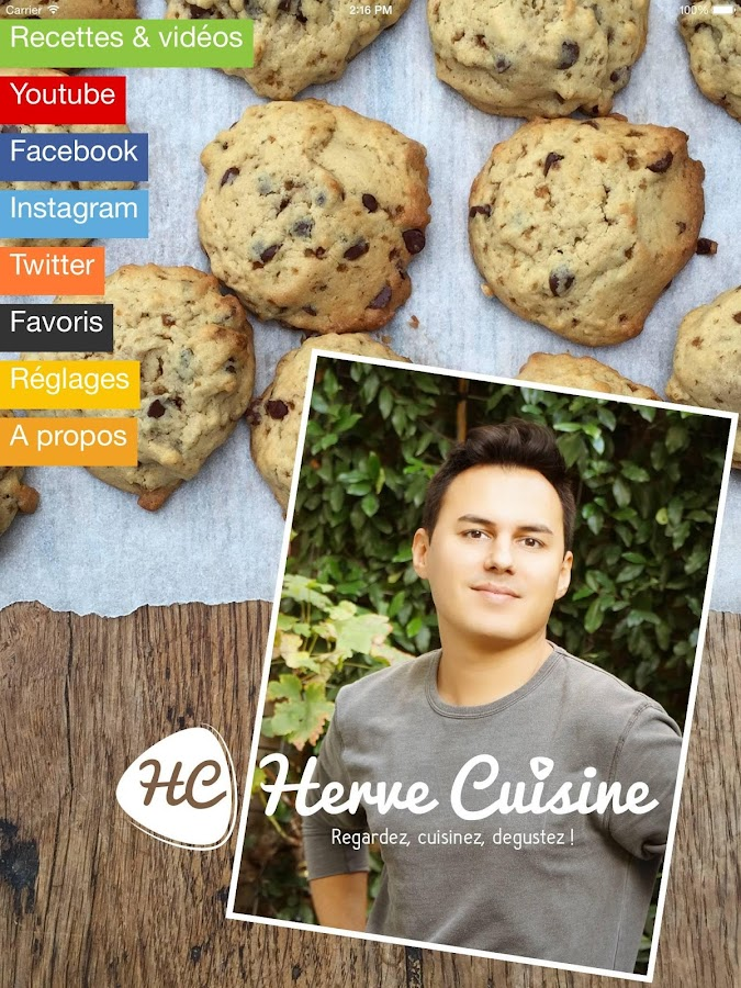 herve cuisine - android apps on google play