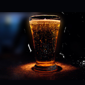 Real Beer HD live wallpaper