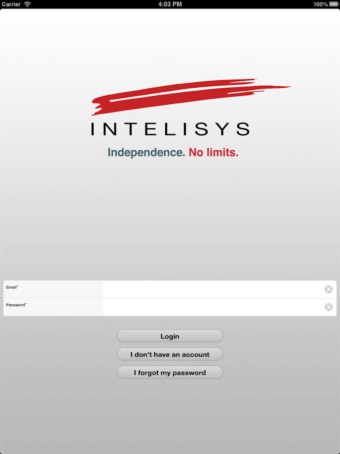 Intelisys- screenshot