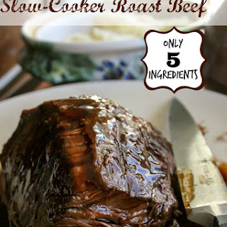 Slow-Cooker Roast Beef.