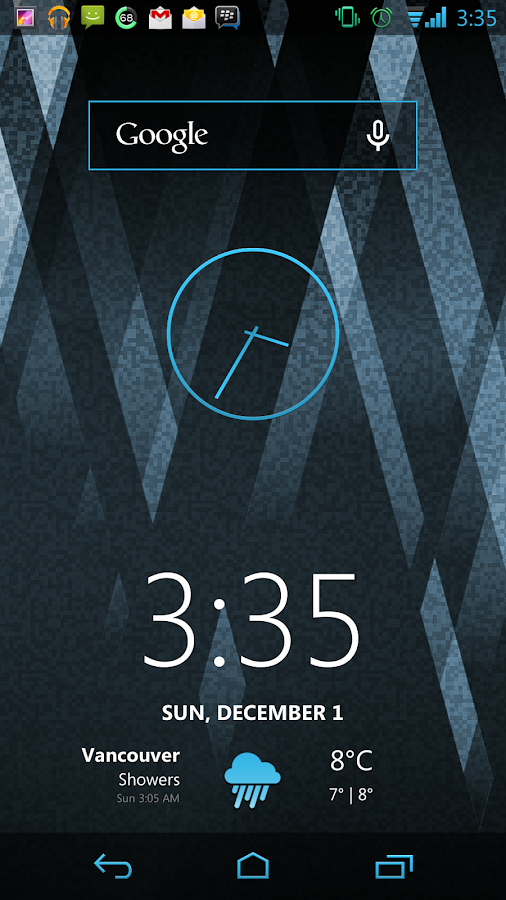 Vivid Blue CM11 AOKP Theme- screenshot