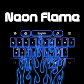Flame Neon Keyboards