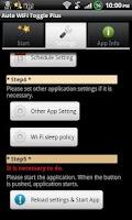 Screenshot of Auto WiFi Toggle Plus