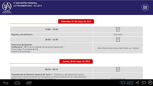 IFA Bolivia 2014 screenshot 4