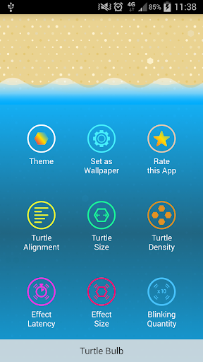 Turtle Bulb Live Wallpaper