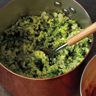 Cauliflower-Broccoli Mash.