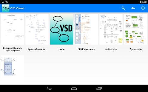 VSD and VSDX Viewer- screenshot thumbnail