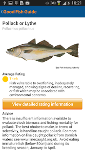 Good Fish Guide- screenshot thumbnail