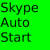 Run skype on boot!