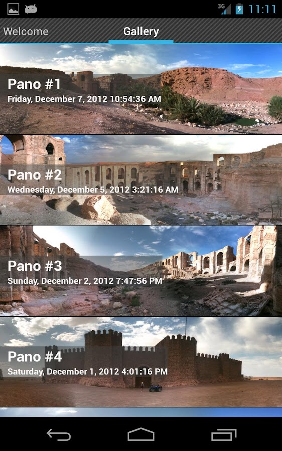 PanoStitch Panorama Pictures - screenshot