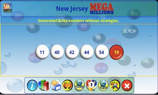 mLottoLuck Lotto Lottery PRO - screenshot thumbnail