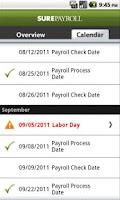 Screenshot of Mobile Payroll by SurePayroll