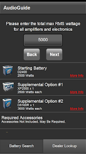 XS POWER® BATTERY SEARCH 2.0- screenshot thumbnail