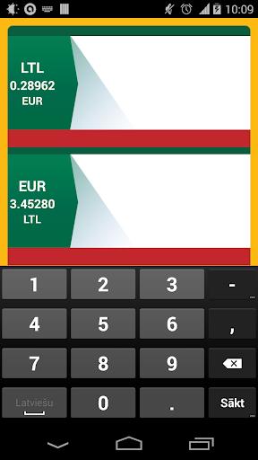 Euro skaičiuoklė