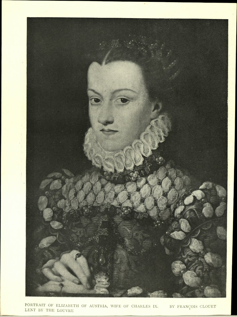 Elizabeth Of Austria Wife Of Charles Ix Of France 1554-1592