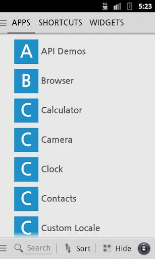 玩個人化App|スクエアホームテーマ:Gメールのスタイル免費|APP試玩