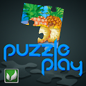 Puzzle Play Fruits logo