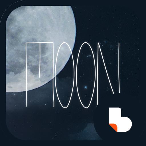 감성 보름달 버즈런처 테마 (홈팩)