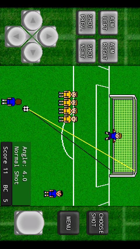 Gachinko Football: Free Kick- screenshot