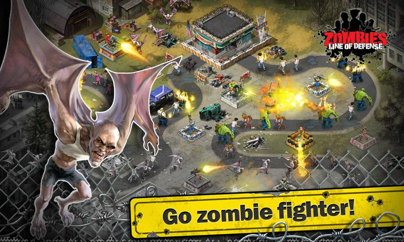 Tải Game Zombies: Line of Defense Hack Full