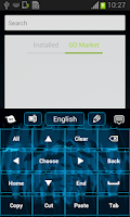 Screenshot of Batmania Keyboard