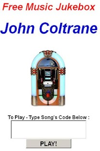 John Coltrane JukeBox - screenshot thumbnail