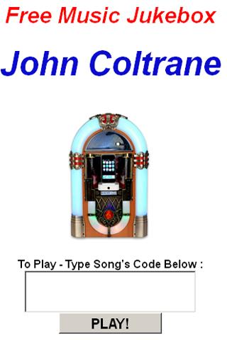 John Coltrane JukeBox - screenshot