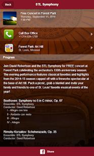St. Louis Symphony screenshot